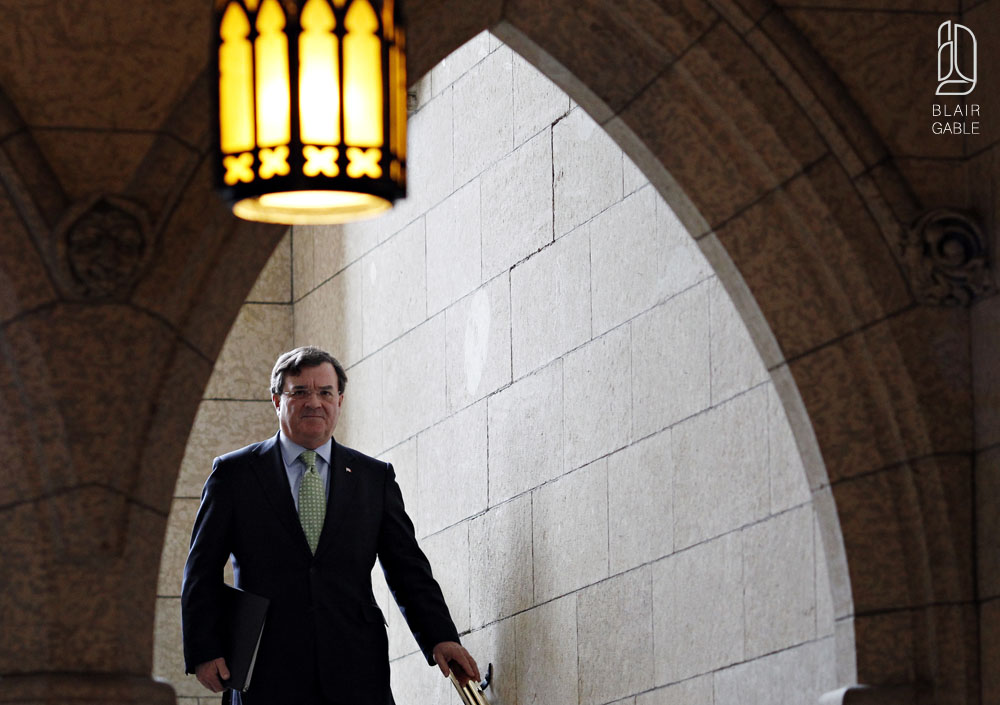 Finance Minister Jim Flaherty