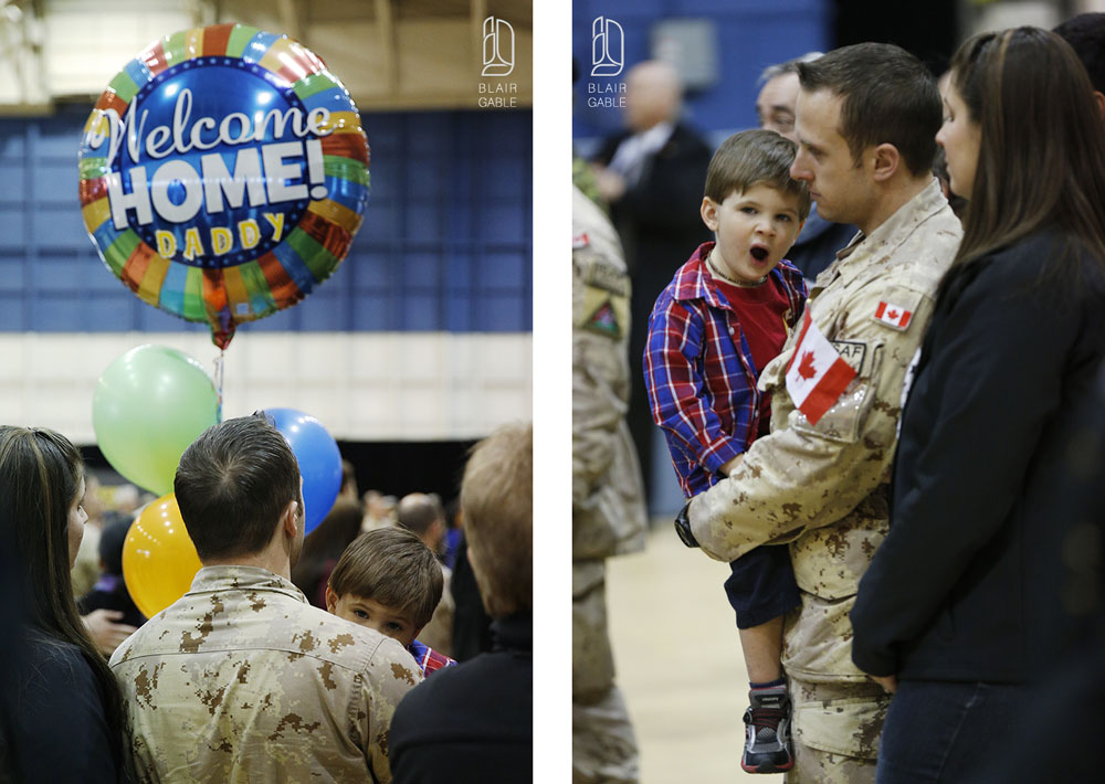 Canadian soldiers return from Afghanistan