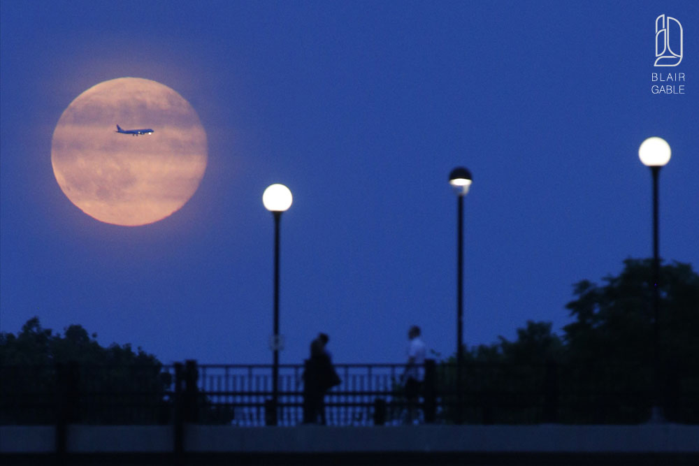 Supermoon-Ottawa