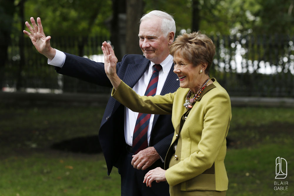Governor General at Rideau HAll