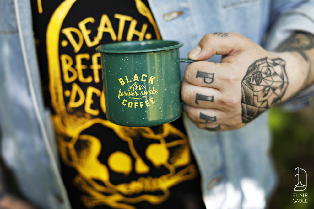 black coffee apparel