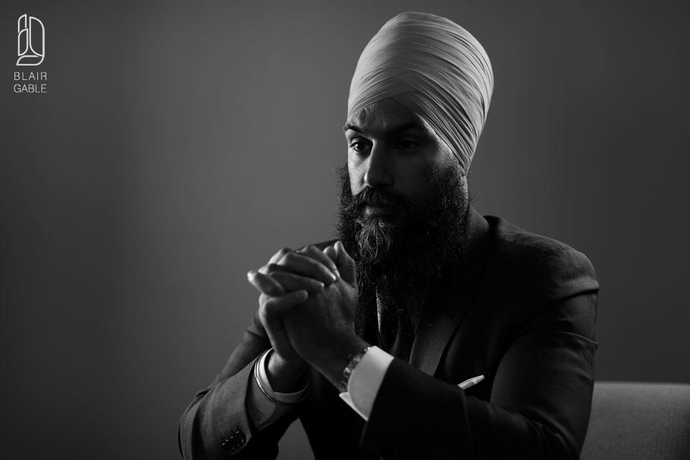 NDP-leader