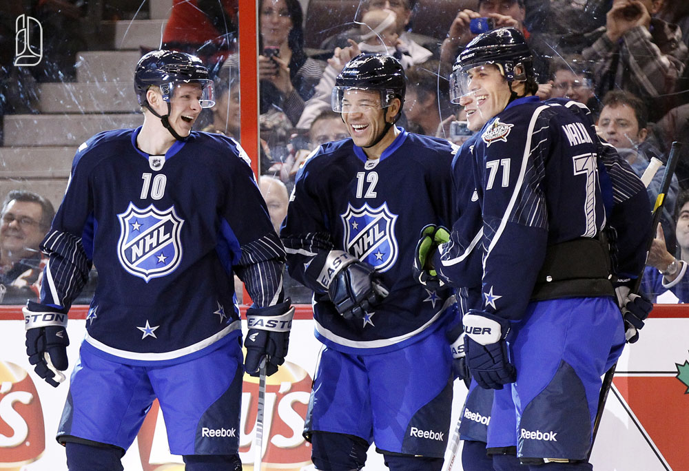 Iginla, Perry, Malkin at NHL all-star game in Ottawa