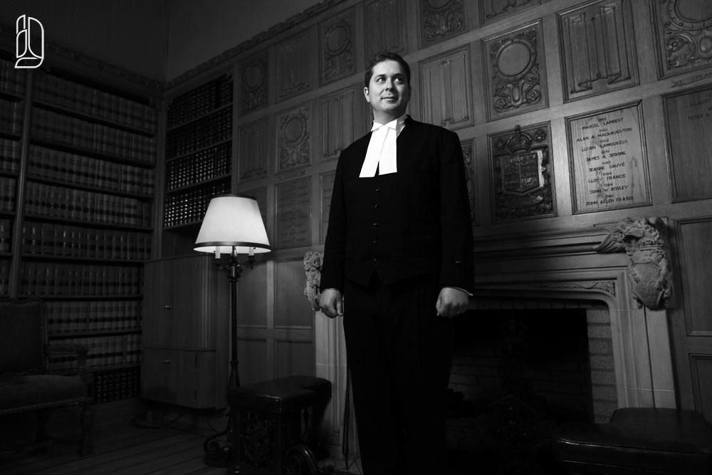Speaker of the House of Commons Andrew Scheer in Ottawa