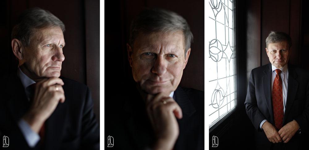 Polish Professor and financial analyst Leszek Balcerowicz