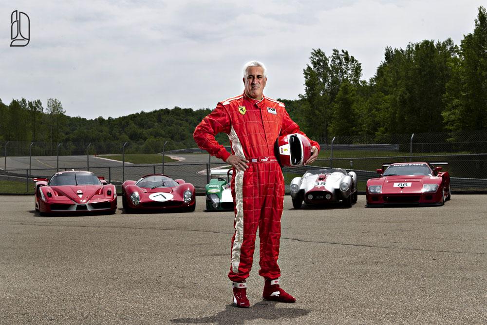 Stroll's Ferrari's