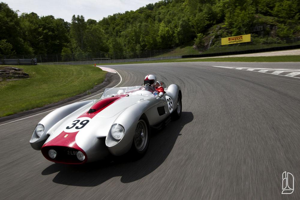 Ferrari at Le Circuit in Mont Tremblant Quebec