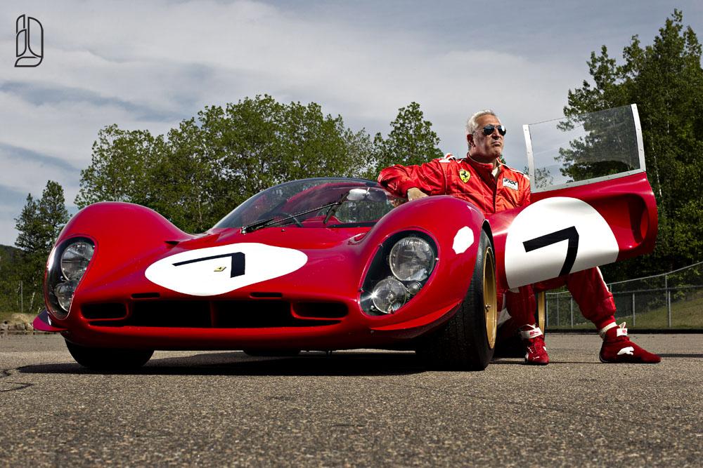 Stroll's Ferrari P4