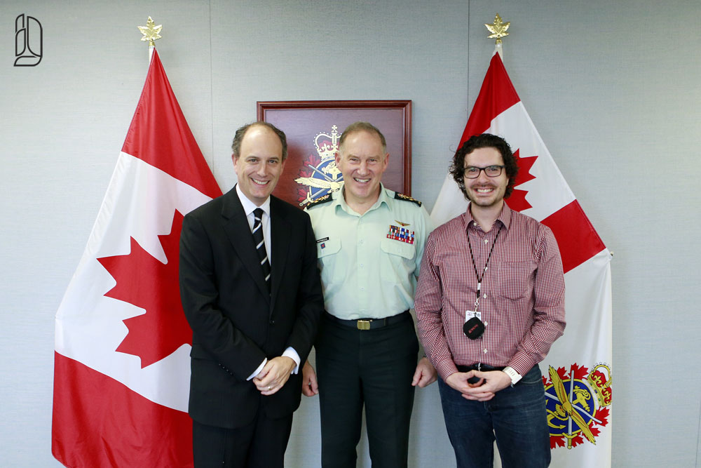 Canada's Chief of the Defence Staff General Walt Natynczyk in Ottawa