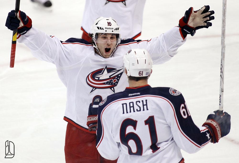 Rick Nash's game winning goal against the Ottawa Senators
