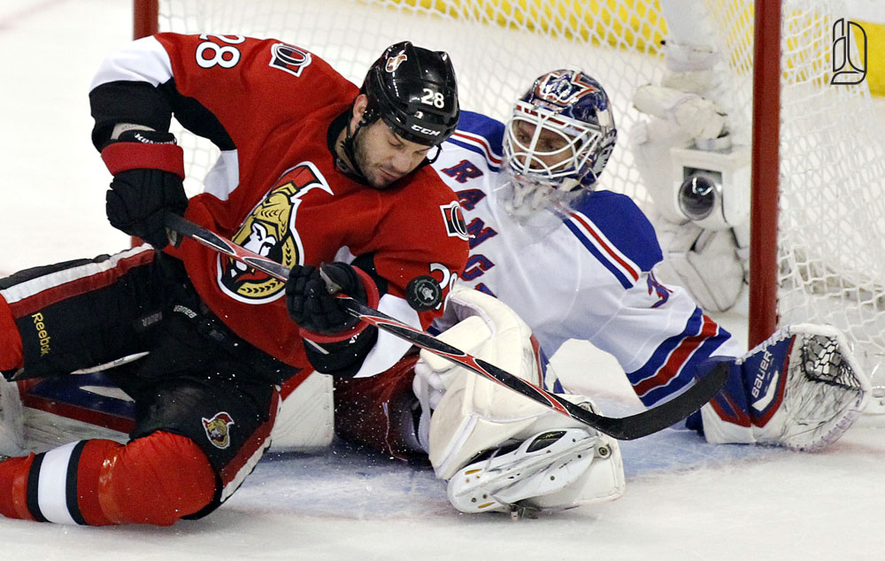 Senators against Rangers game 3 Stanley Cup quarter finals