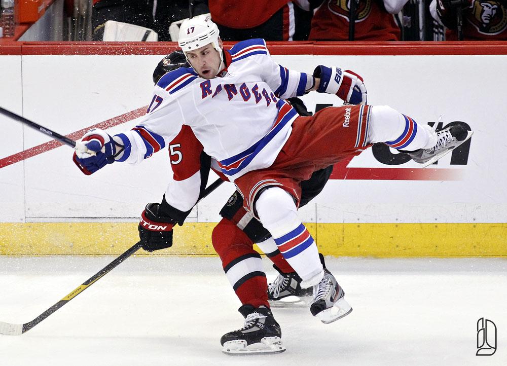 Senators against Rangers game 3 Stanley Cup quarter finals